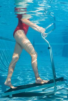 Aquatic Treadmill - Get in shape, renew your energy level, and release stress and tension – all in the privacy of your own pool.