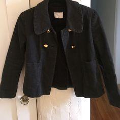 Phillip Lim cropped denim jacket 3.1 Phillip Lim cropped denim jacket with gold pyramid stud buttons 3.1 Phillip Lim Jackets & Coats Jean Jackets