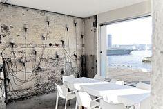 Wall - Stork in Amsterdam