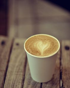 hearted latte