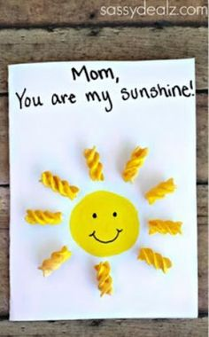 Mothers Day Crafts For Kids Discover Kids Crafts Get free tutorials and printables for fun kids crafts holiday crafts DIY gift ideas and more! Easy Mother's Day Crafts, Sun Crafts, Mothers Day Crafts For Kids, Daycare Crafts, Fathers Day Crafts, Fun Crafts For Kids, Diy Crafts For Gifts, Preschool Crafts, Holiday Crafts