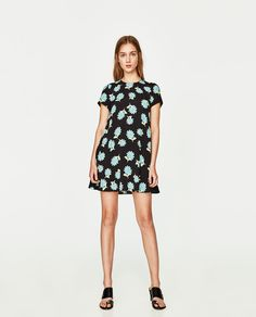 FLORAL PRINT DRESS-NEW IN-TRF | ZARA United States