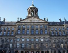 The Royal Palace on Dam Square, formerly the town hall, is one of three palaces still in use by the Dutch Royal family.