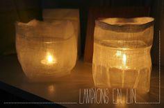 LAMPIONS en lin