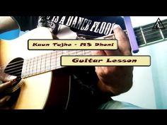 Kaun tujhe - M.S Dhoni | Guitar lesson | Delta music