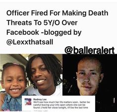 Wtf is wrong with this cop. Threatened a child. Smh