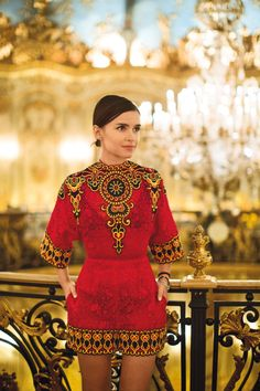 Miroslava Duma | British Vogue March 2014.