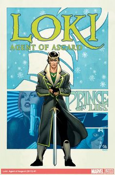 All-New Marvel NOW! Loki: Agent of Asgard #1 (Cover by Frank Cho.)