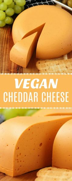 Smoky red pepper vegan cheddar cheese. Firm and sliceable and totally delicious on crackers or sandwiches or grated on pizza. | lovingitvegan.com...