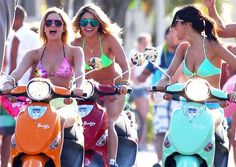 #ridecolorfully  I would totes form my own vespa riding gang/crew