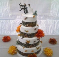 Redneck Wedding Cake Toppers | CMT : Photos : All My Big Redneck Wedding 4 Pictures : The Cake