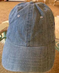 134ce22249c Blue Jean Denim Ballcap Cap Hat Fitted Baseball Unisex by Magic