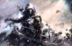 skyrim nightingale painting | archer skyrim by landycakep