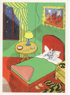 """""""Goodnight Moon,"""" written by Margaret Wise Brown and illustrated by Clement Hurd. It was first published in 1947."""