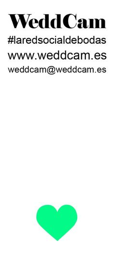 WeddCam, #laredsocialdebodas, http://weddcam.es/