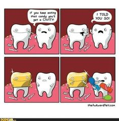Comics about life, science comics, medical comics, and more of the funniest webcomics from The Awkward Yeti. Funny Cartoons, Funny Comics, Funny Jokes, Hilarious, Memes Humor, Humor Dental, Dental Hygiene, Dental Assistant, The Awkward Yeti