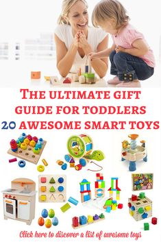 Toys for toddlers: If you are looking for some of the best educational toys for toddlers, here is a list of our favorite recommendations! They are really awesome and can bring hours of play! | Toys for toddlers | Gift guide for toddler | Christmas gifts