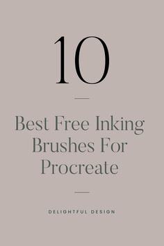 Looking for free procreate inking brushes? We run down the top ten for you Personal Website Design, Minimal Website Design, Branding Template, Branding Design, Logo Design, Design Design, Web Design Tips, Web Design Trends, Design Layouts