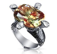 Диаспор (султанит)-камень успеха. Обсуждение на LiveInternet - Российский Сервис Онлайн-Дневников Make Your Own Jewelry, I Love Jewelry, Jewelry Rings, Unique Jewelry, Jewelry Accessories, Fine Jewelry, Jewelry Design, Jewelry Making, Jewellery