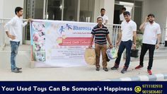 Yes !! Your used #Toys can be someone's #Happiness  #Bharoosa  #Donate  Website :www.bharoosa.com