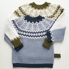 Ravelry: Emblagenser/Emblasweater pattern by Tina Hauglund Kids Knitting Patterns, Knitting For Kids, Knitting Designs, Baby Knitting, Knitted Baby Clothes, Knitted Bags, Big Knit Blanket, Nordic Sweater, Big Knits