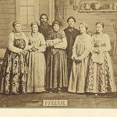 Группа русских Западной Сибири, 1879, Автор: Поляков Иван Семенович