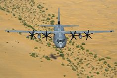Indian Air Force Lockheed C-130J Hercules (or Super Hercules) tactical transport. Photo - IAF.