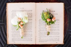 #boutonniere  Photography: Amie Schroeder Photography - amieschroeder.com/ Floral Design: Hana & Posy - hanaposy.com  Read More: http://www.stylemepretty.com/little-black-book-blog/2012/10/01/philadelphia-wedding-inspiration-from-amie-schroeder-photography-hana-posy/