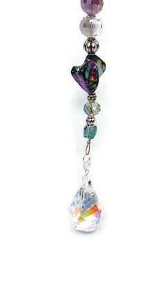 Genuine Swarovski Crystal Window Suncatcher by MommaGoesBoho Suncatchers, Belly Button Rings, Swarovski Crystals, Window, Drop Earrings, Jewelry, Decor, Jewlery, Decoration