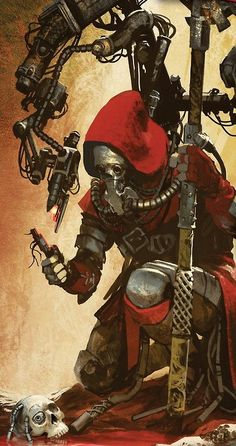 Tech Priest of Mars