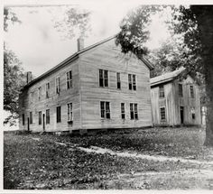 U of A Campus -- First Building :: Shared History: Fayetteville and the University of Arkansas