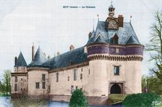 Chateau de Moy de Laisne - Aisne - taken in May, 1908