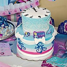 Dreamy Cinderella Cake How To