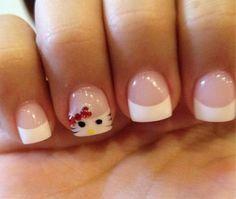 Decoracion De Uñas De Hello Kitty CentralMODA.COM