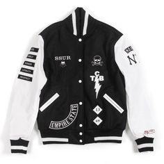 SSUR - NY Dog Varsity Jacket