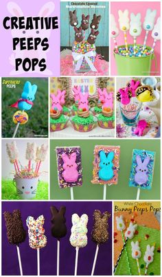 Peeps Pops - a delicious collection of Peeps on a Stick!
