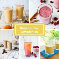 Banana-free Smoothies (Vegan)