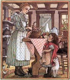 Little Red Riding Hood.  illustrated by Trina Schart Hyman.  My one of my child hood favorites!