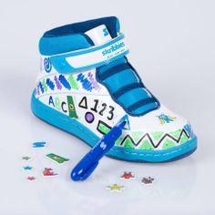 Skribbies  Kid's Customisable High Top Shoes £39.99 #houseoffraser #POPatHOF