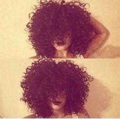Biracial hair when my hair gets this length!!! :)