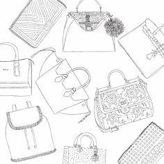 Glamour Handbags for MinkBlog on Make A Gif