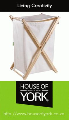 House of York Laundry Bag Flip Lid