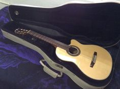 Classical Guitar Crafter CE 24/N Nylon string  by WMcFlameworks, $385.00