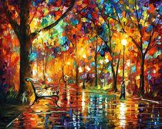 Leonid Afremov Paint