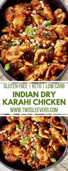 Kadhai Chicken Recipe | Indian Dry Chicken Curry R…Edit description