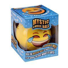 MAGIC BALL EMOJI, mystic emoji ball, emoji toy, emoji party favor, emoji gift