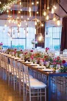 Featured Photographer: Sarah Kate Photography; Wedding reception idea.