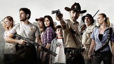 The Walking Dead.. Elenco de la primera temporada de esta serie que ya va por la quinta entrega. #zombie #zombies #thewalkingdead