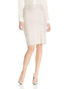 71154733856 Calvin Klein Women s Midi Eyelash Skirt