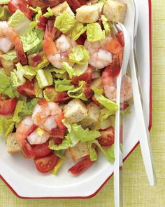 Shrimp Club Salad is a favorite with us.